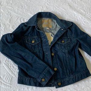 NWT Michael Kors Cropped Jean Jacket